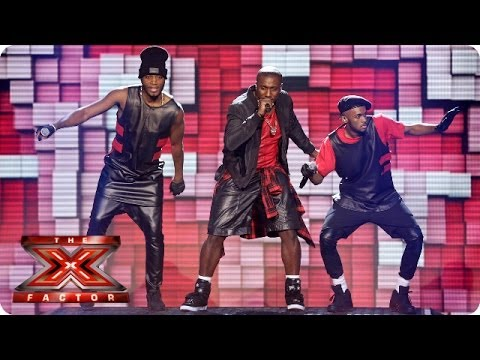 Rough Copy sing Every Little Step & She's Got That Vibe mash up - Live Week 8 - The X Factor 2013