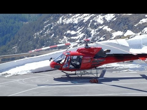 Glacier Helicopter Pilot. Master of his Job over the glacier