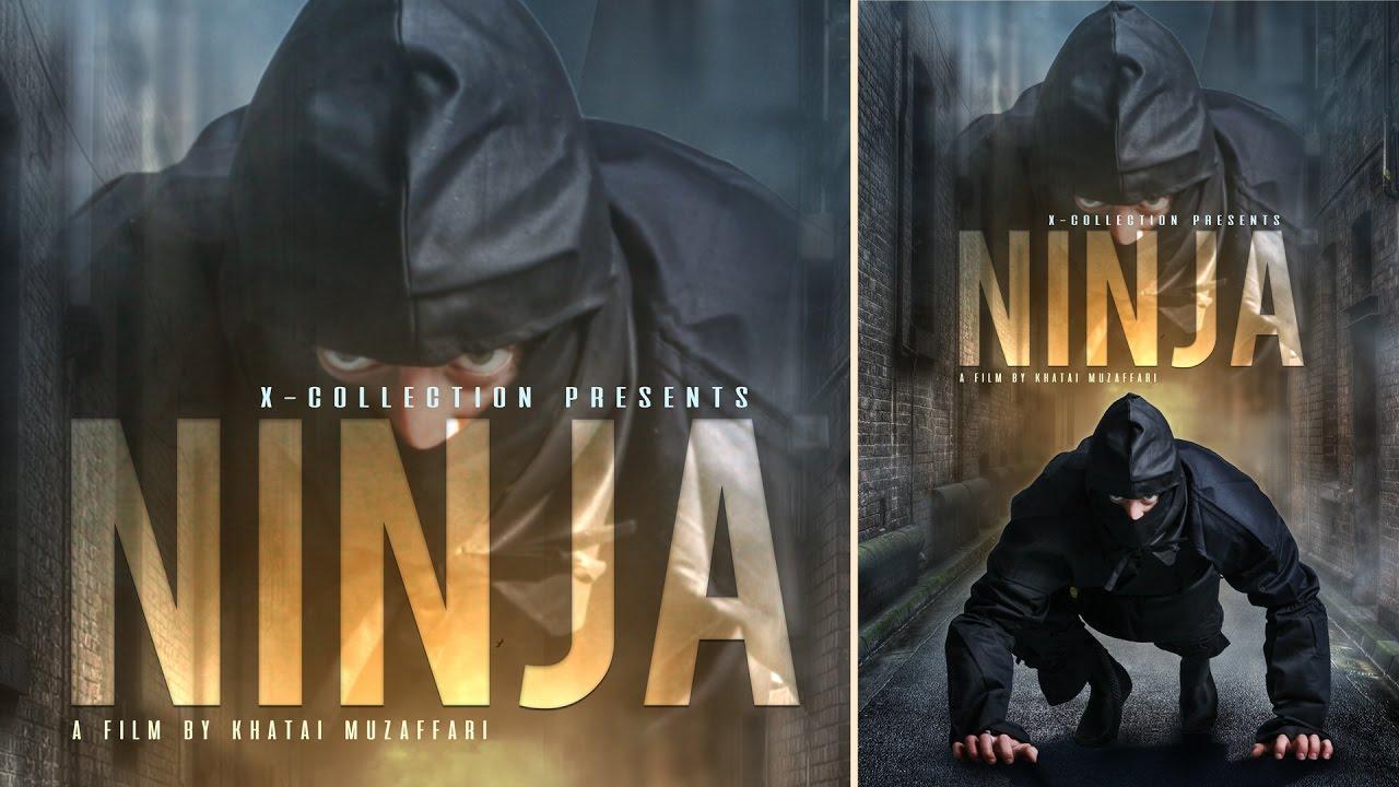 Download Movie Poster Photoshop Tutorial - Ninja