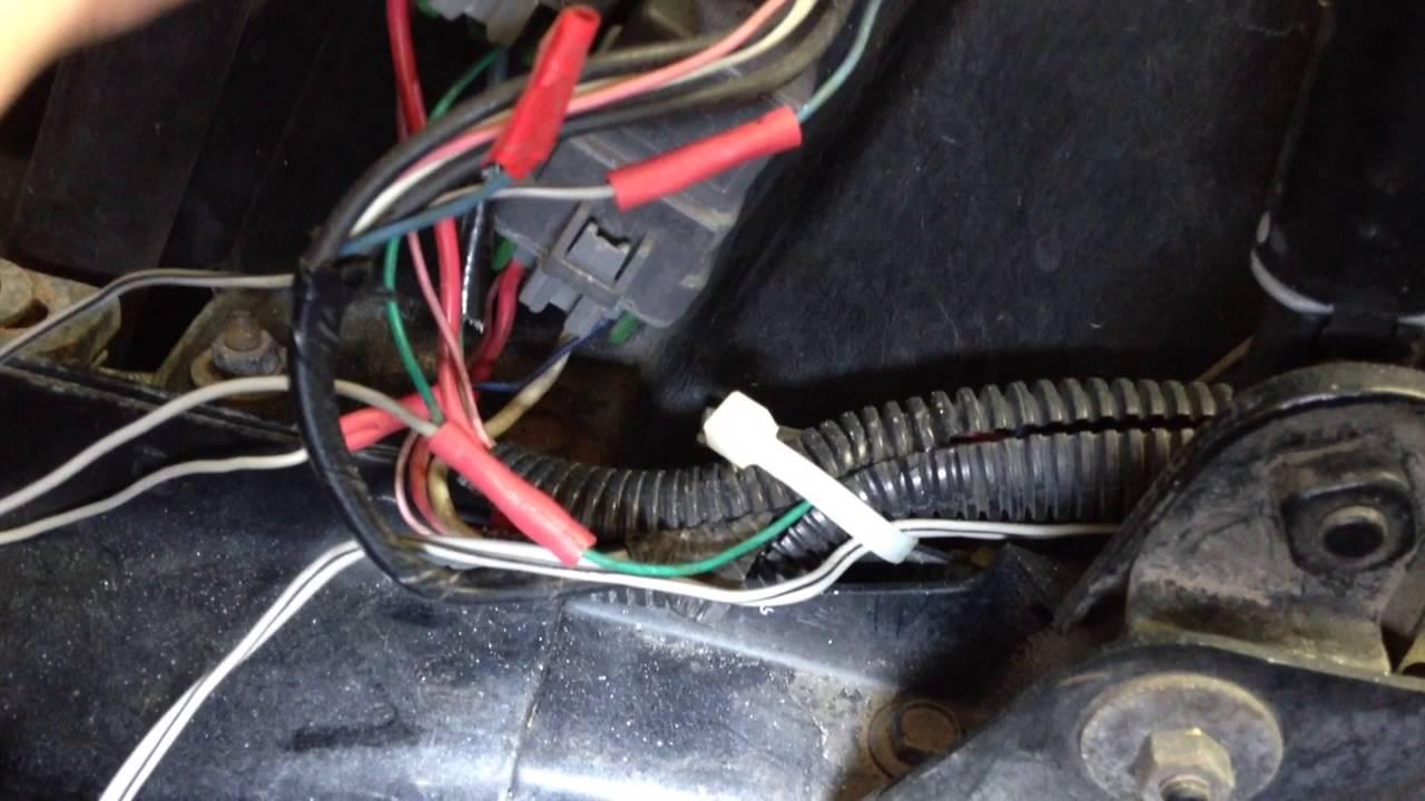 1995 Corvette Manual Fan Switch  YouTube