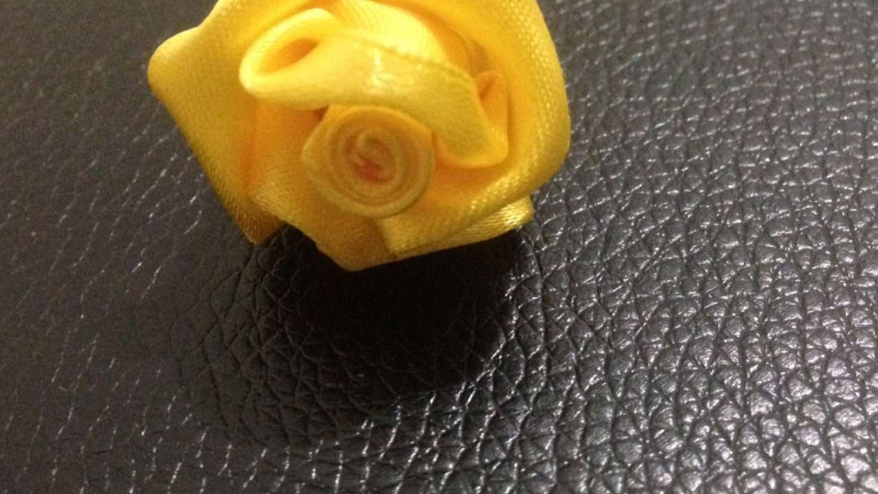 Rose Fai Da Te crea una bellissima rosa di raso - fai da te creazioni - guidecentral