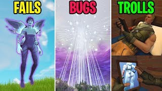 HOW TO RESTART THE CUBE EVENT! FAILS vs BUGS vs TROLLS - Fortnite Funny Moments