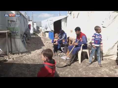 السيول تغرق مخيما للاجئين في البقاع  - 04:21-2018 / 2 / 21