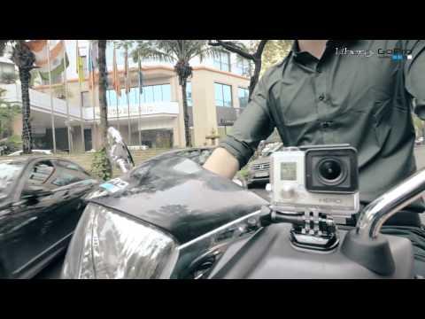 Camera GoPro HERO3 là gì ? - Tìm hiểu về sản phẩm  tặng kèm khi mua xe Liberty Italia 2015