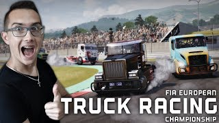 Wyścigi Ciężarówek !? ⚑ Jak Ja W Szoku! ⚡ FIA European Truck Racing Championship