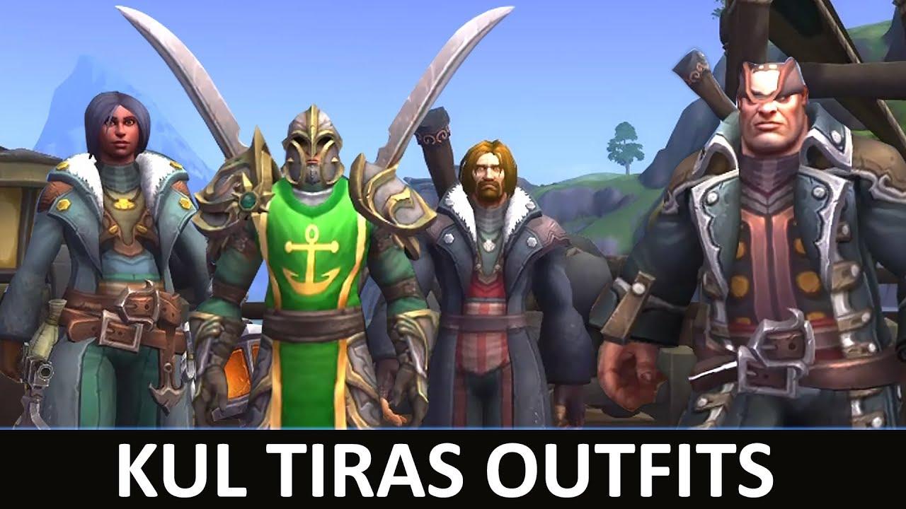 Kul Tiras Coats & Outfits - Battle for Azeroth - getplaypk