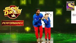 Bishal और Vaibhav ने अपने Performance से सबको हँसाया | Super Dancer Chapter 2