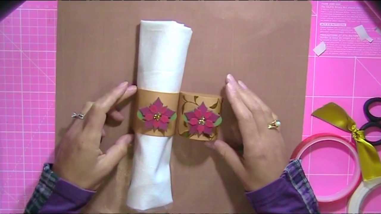 How To Make Your Own Napkin Rings Amp Place Cards For