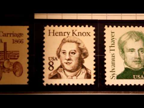 Henry Knox 1985 8 Cents