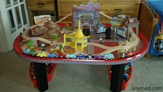 Review: Disney Cars Radiator Springs Race Track Set & Table (by Kidkraft For Costco)