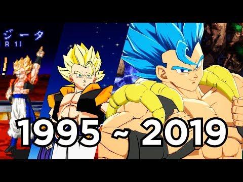 Evolution Of Gogeta; 30 Games (1995 To 2019)