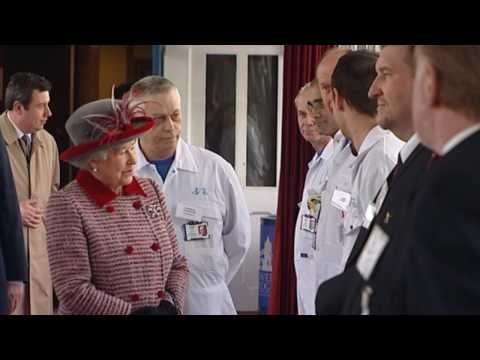 The Queen visits the City of London