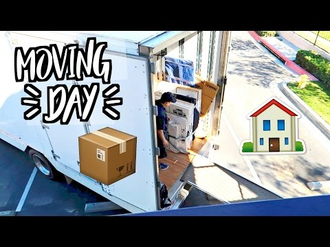 IT'S MOVING DAY!!! MOVING TO LA!!
