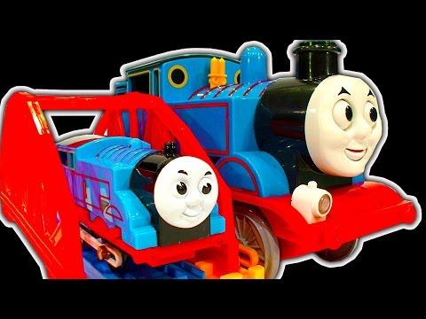 Thomas The Tank Dark Side Knock Off Toys Ep13 Strange TOMY & Big RC Train