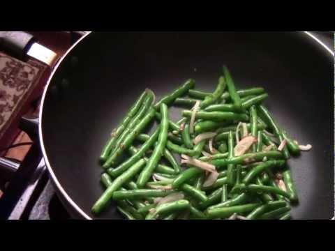 How To Make Garlic Sauteed String Bean