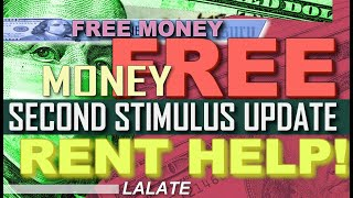BREAKING: More Stimulus FREE RENT MONEY?   SECOND STIMULUS CHECK UPDATE Stimulus Package GREAT NEWS!