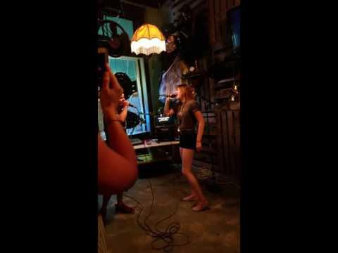 Karaoke at Brass Monkey. Monroe, Louisiana