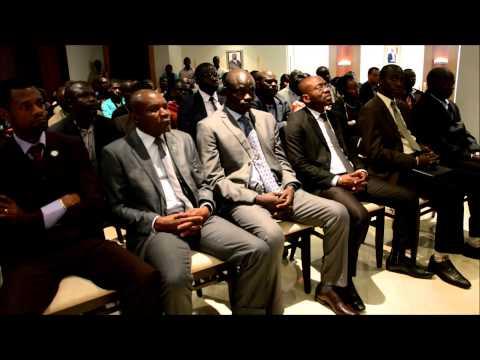 Conférence sur l'Entreprenariat-Gabon / Rabat Maroc
