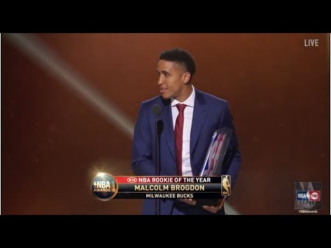 Malcolm Brogdon named the 2017 NBA Rookie of the Year | NBA on  TNT