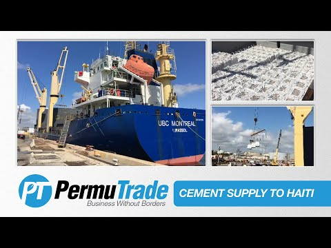 PermuTrade Supplying Cement To Haiti [April 2017]