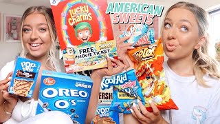 I ONLY ate American Sweets for 24 Hours!