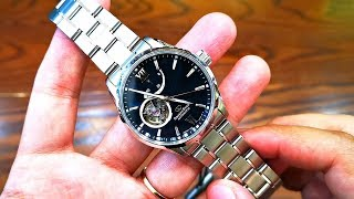 [Review Đồng Hồ] Orient Star Power Reserve Open Heart RE-AT0002E00B | ICS Authentic