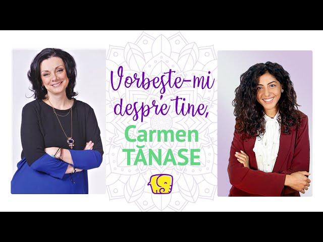 Vorbește-mi despre tine (Ep.3) - Interviu unic cu Carmen Tănase (Actriță)