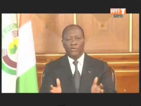 Nouvel an 2013 Les voeux du Président du President Alassane