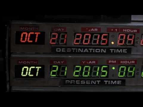 Back to the Future, Future Date