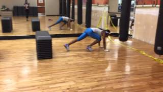 SpoonFed Training - Box Jumps into push-ups