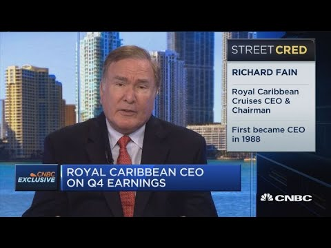 Royal Caribbean CEO: People want experiences and we're benefiting from that