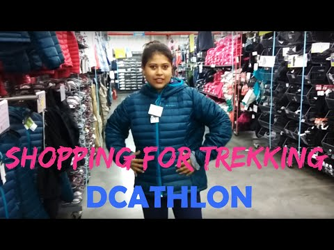 Trekking Gear From Decathlon For Goechala-trek India Bengali 2018 Sikkim