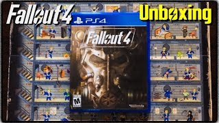 Fallout 4 Unboxing Perk Poster PS4