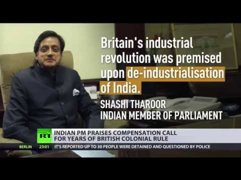 'Britain should pay back $3 trillion for the raj' - Indian politicians