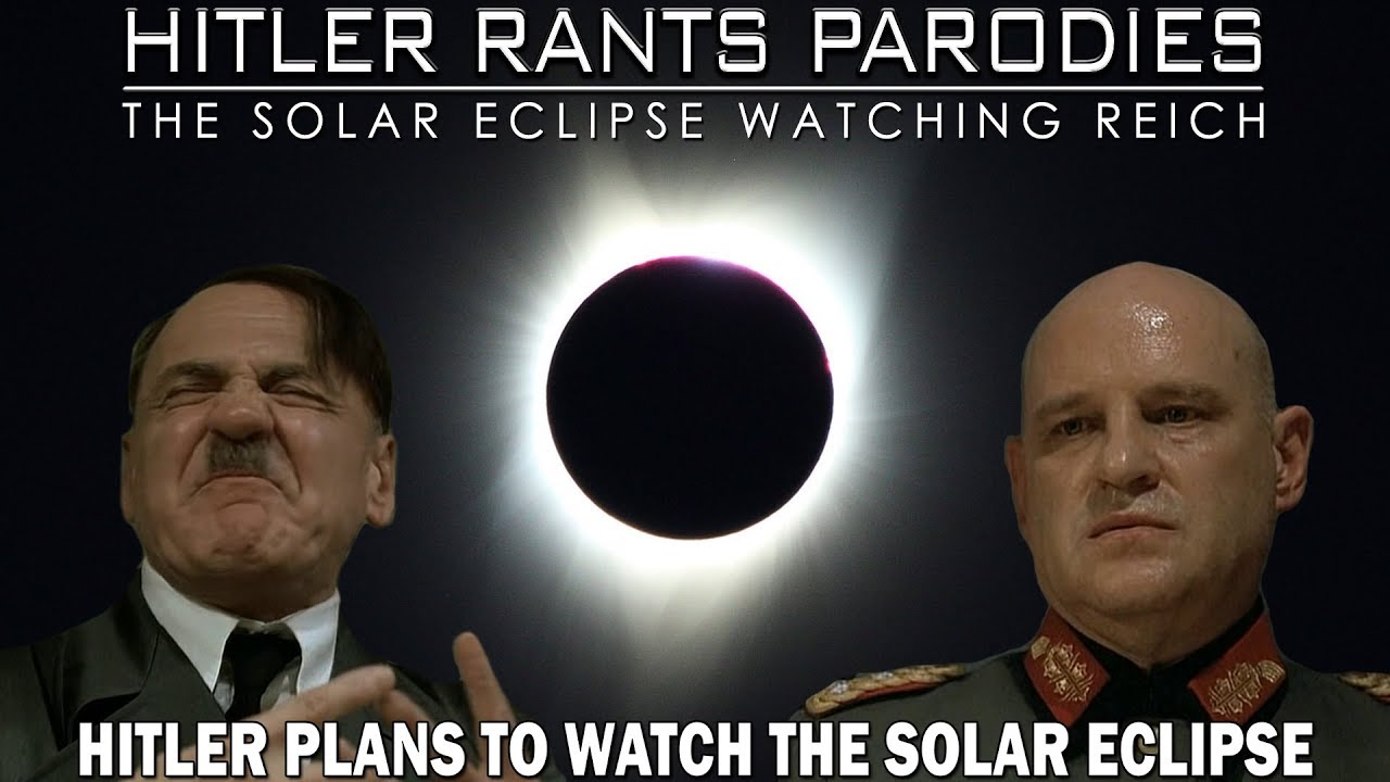 Hitler plans to watch the solar eclipse