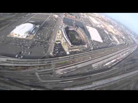 2015 Army Navy Game: Golden Knights Fly Into Lincoln Financial Field
