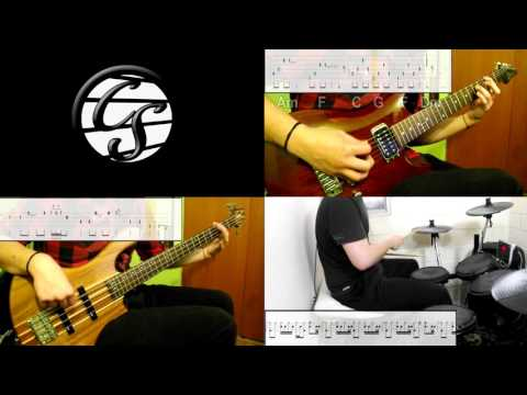 Red Hot Chili Peppers - Californication (Band Cover) (Play Along Tabs In Video)