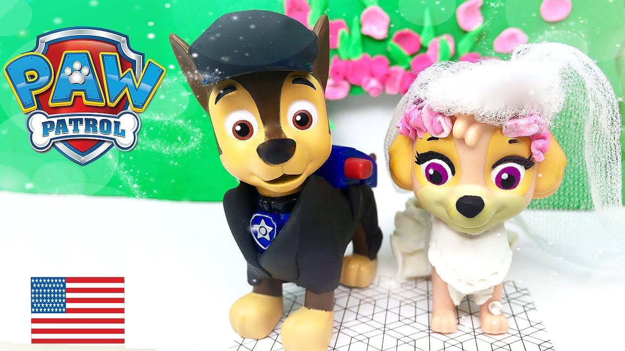 Paw Patrol Chase and Skye get married Full episode Wedding