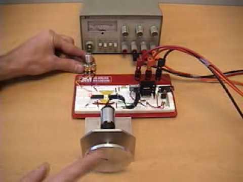 1.6 Mạch Op Amp điều khiển tốc độ động cơ DC