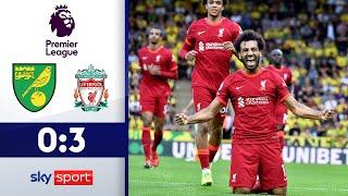 Salah begeistert zum Auftakt | Norwich City - Liverpool 0:3 | Highlights - Premier League 2021/22