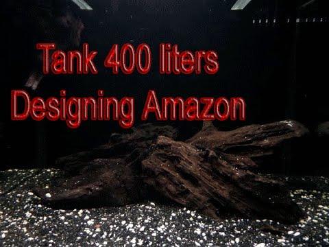Amazon tank | אקווריום בעיצוב אמזונס