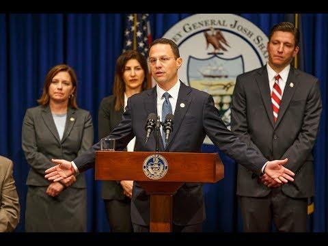 Pennsylvania Catholic Church sexual abuse grand jury report: Press conference