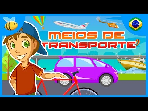 Meios de Transporte | Vídeos Educativos para Crianças