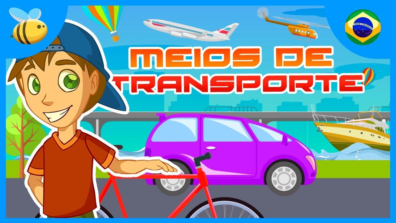 Meios De Transporte Videos Educativos Para Criancas Youtube