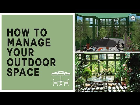 How to design your outdoor with keyplan 3D#2