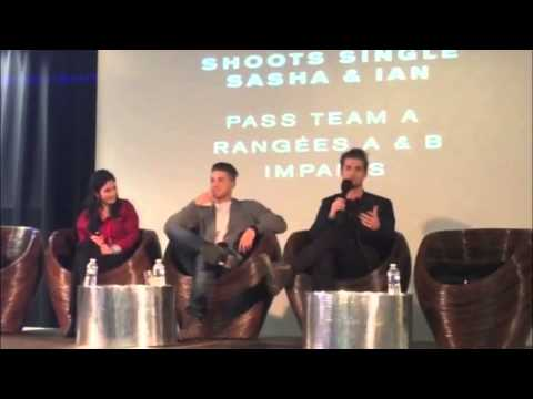 Pretty Little Liars 'Keep A Secret 2' Convention  Drew Van Acker Panel s