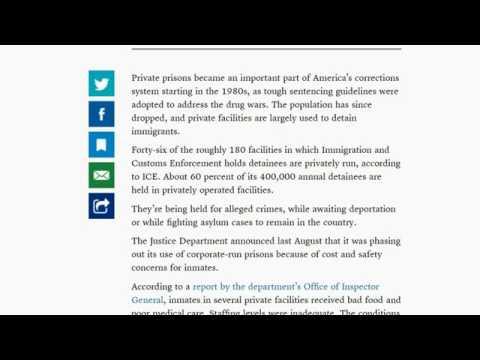 Private Prisons And Mass Arrests Yuge Profits In Trump Usa Trumpcake Inmigración Deportación