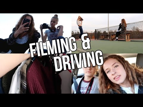 Driving, Filming, & More!