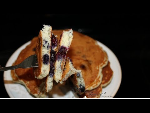 How To Make Easy Blueberry  Pancakes | Easy  Homemade Pancake Recipe | Episode 147