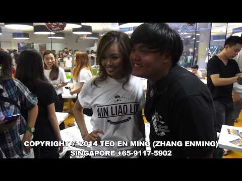 Night Owl Cinematics Meet and Greet at Orchard Scape Singapore on 28 Dec 2014 Sun